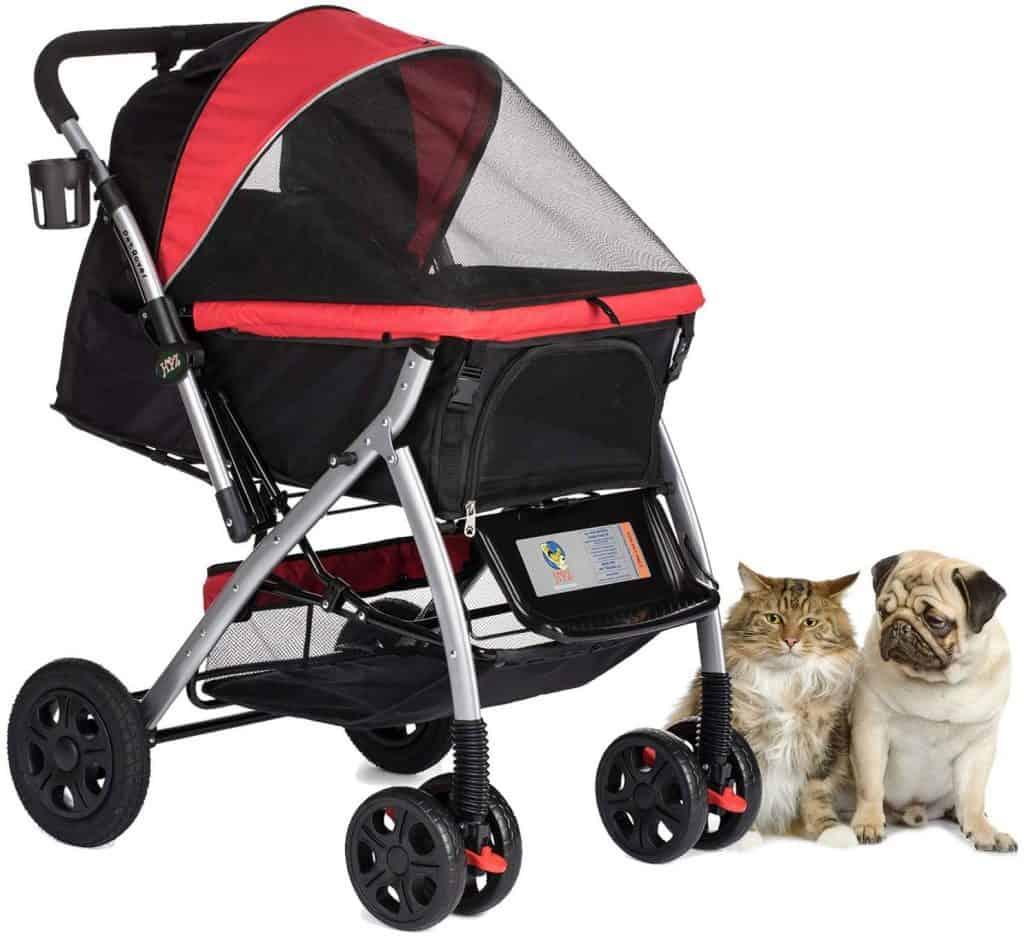 HPZ PET Rover Premium Dog Stroller