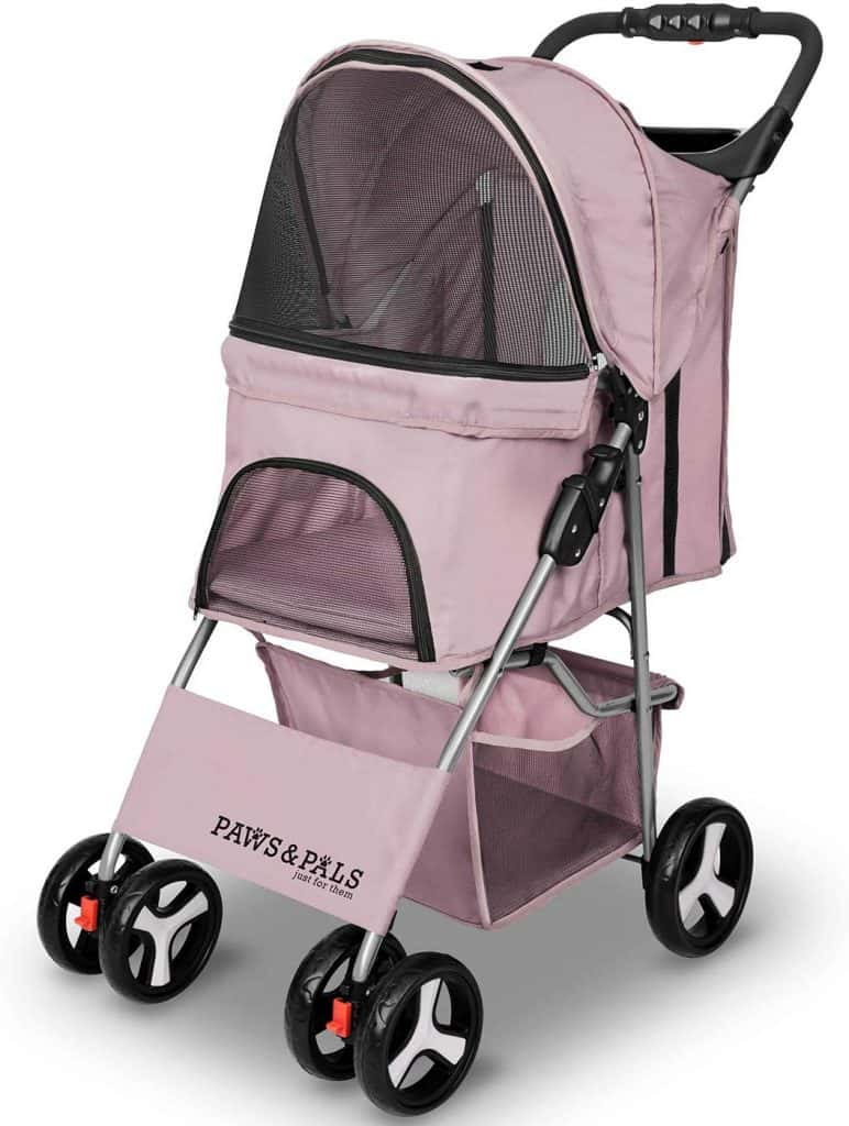 Paws & Pals 4 Wheeler Elite Jogger Dog Stroller