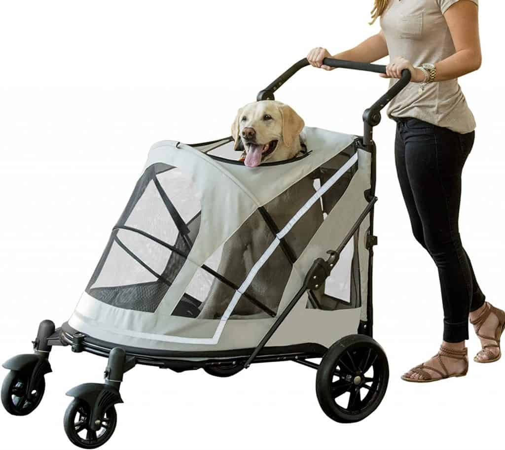Pet Gear No-Zip Expedition Pet Stroller
