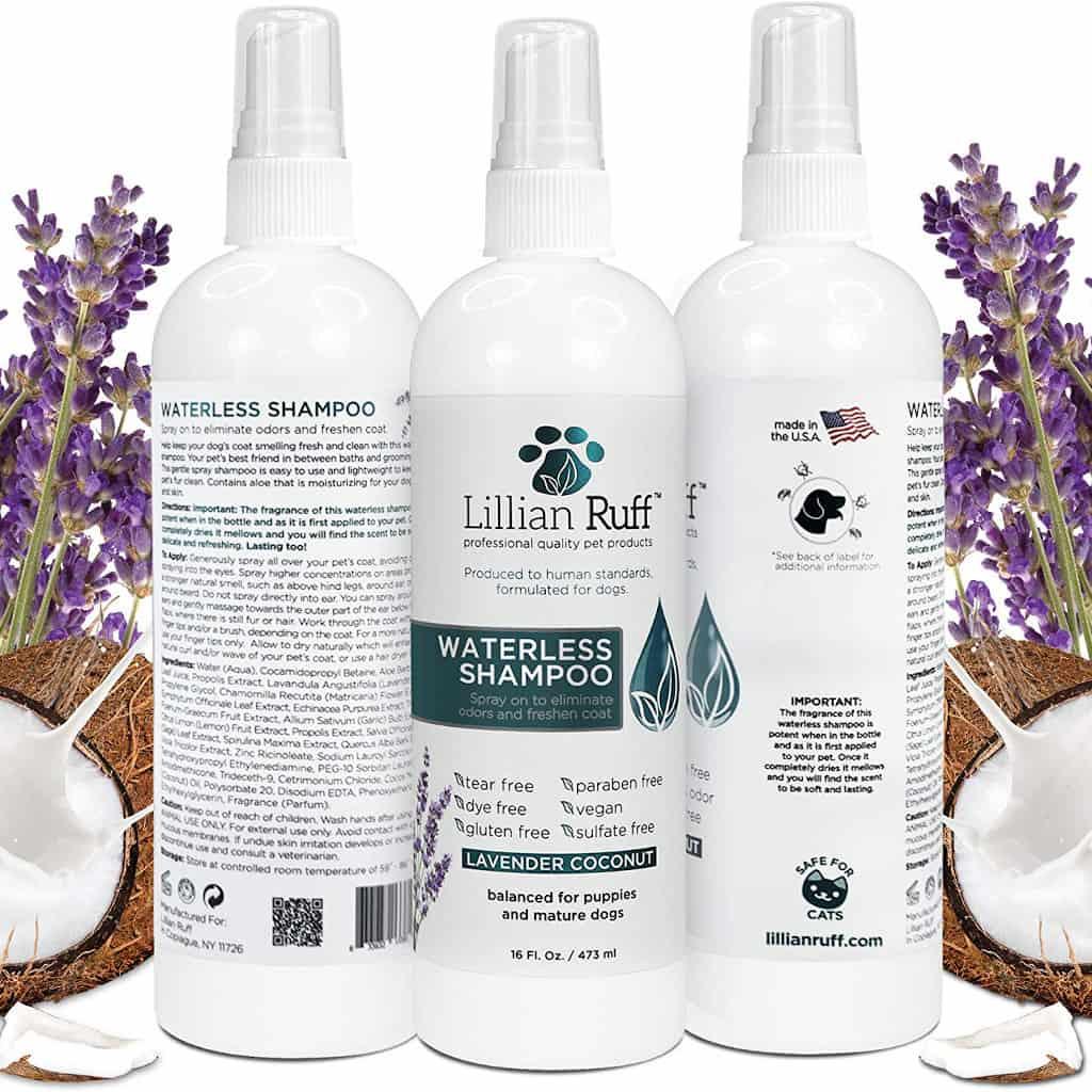 Lillian Ruff Waterless Dog Shampoo