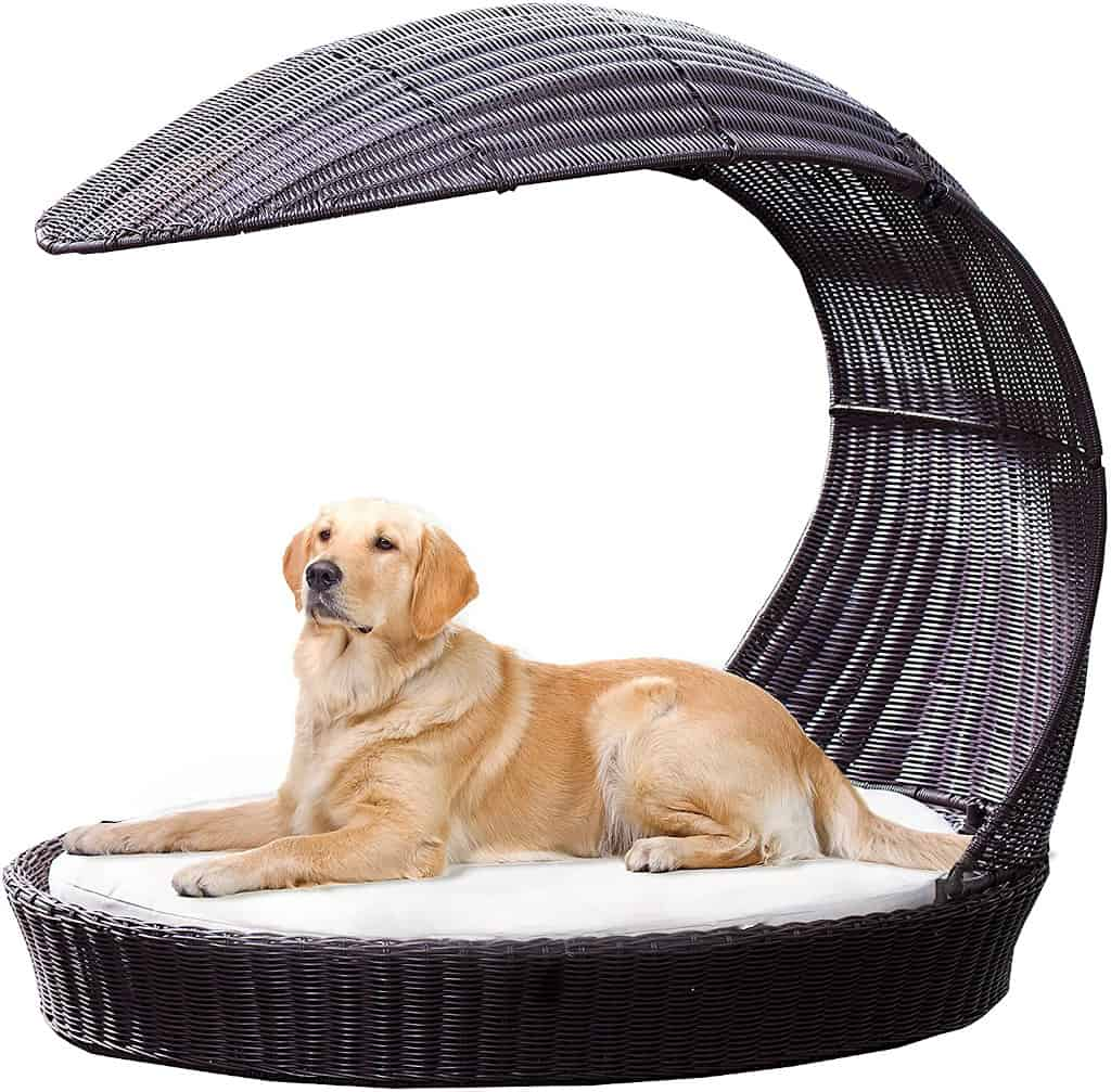 The Refined Canine Outdoor Dog Chaise Waterproof Lounger