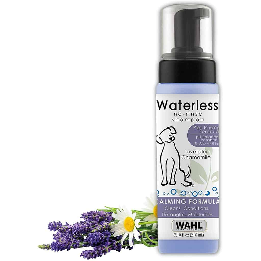 Wahl Pet Friendly Waterless No-Rinse Shampoo