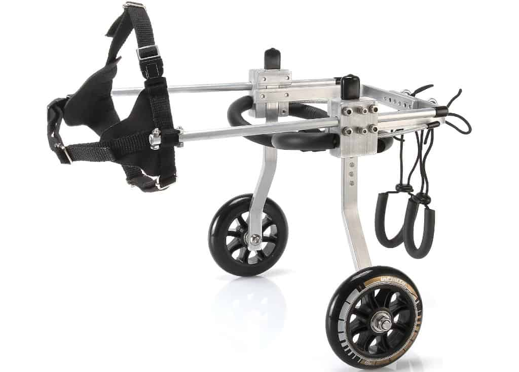 Anmas Sport Adjustable Dog Pet Wheelchair