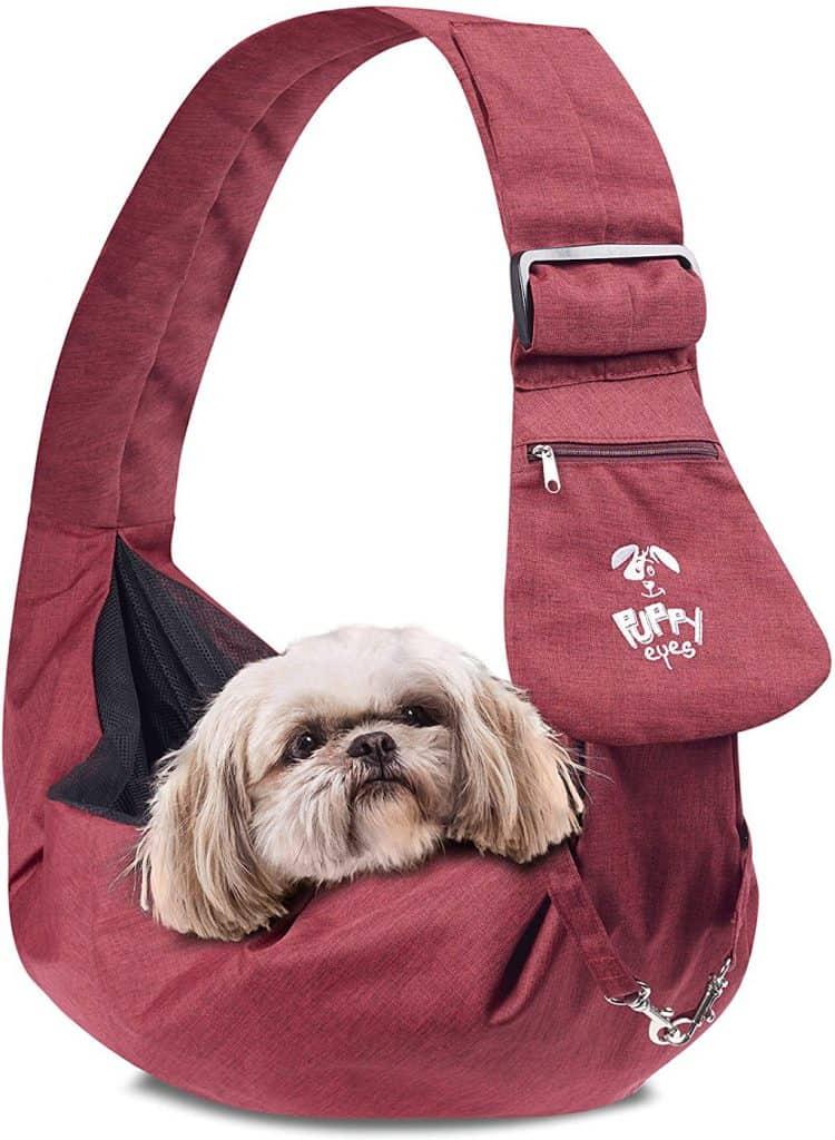 Puppy Eyes Waterproof Pet Carrier Sling