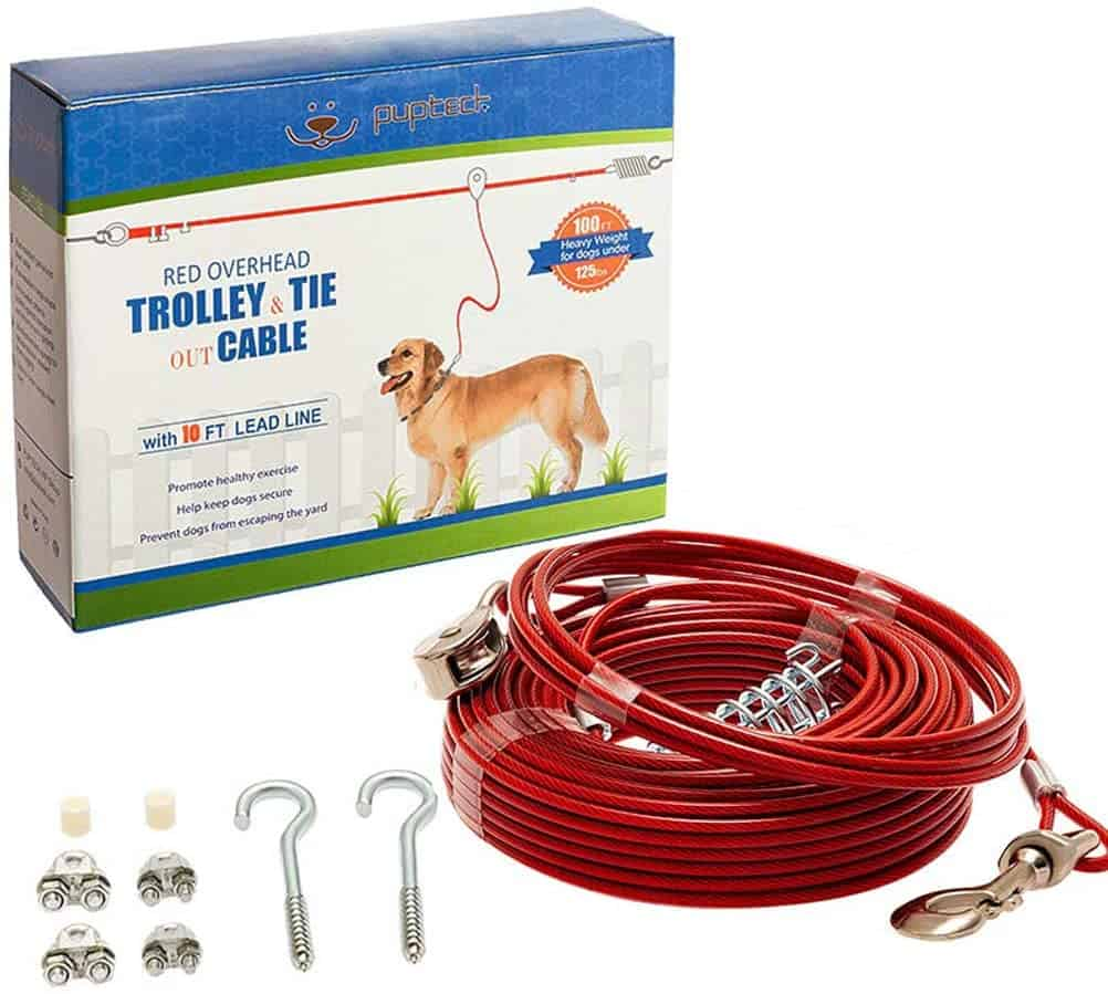 Pupteck Dog Run Cable