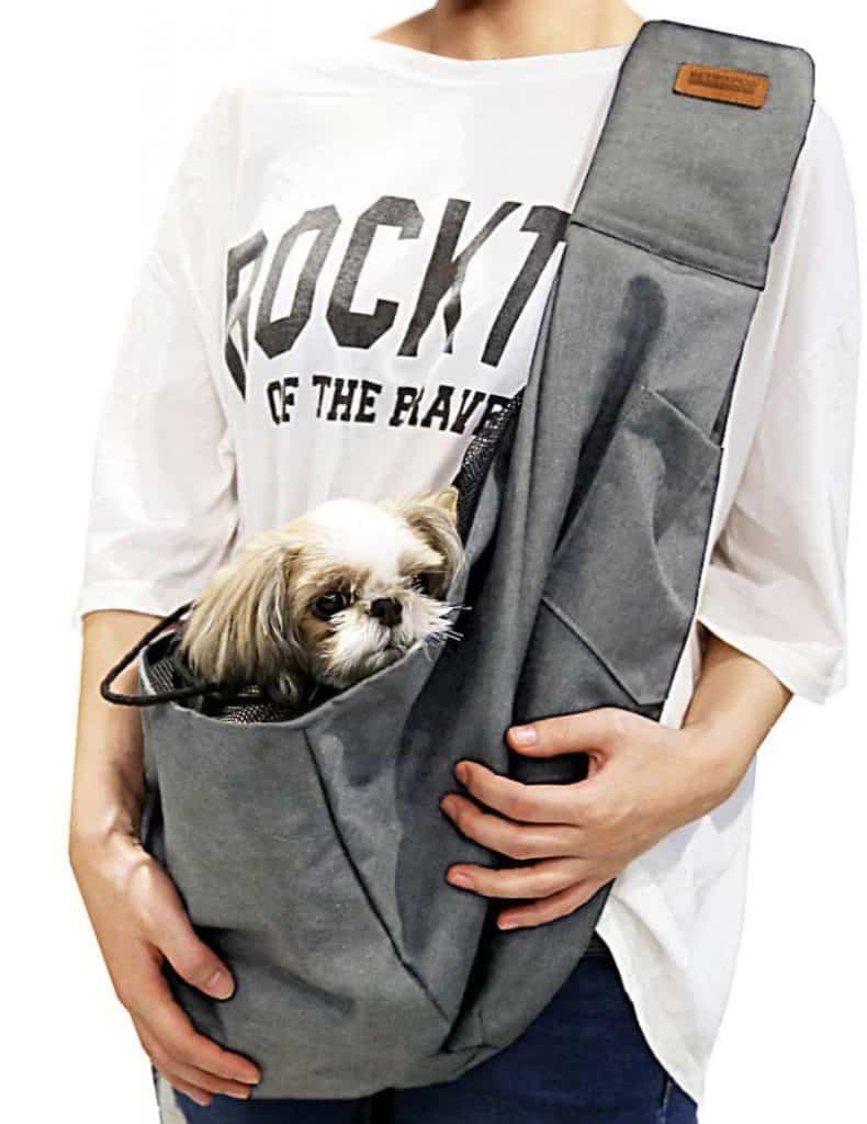Retro Pug Pet Carrier