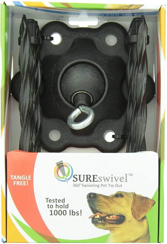 SUREswivel 360 degree Swiveling Pet Tie-Out