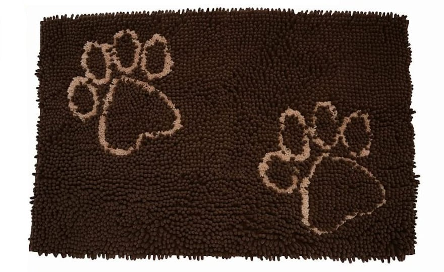 EXPAWLORER Dog Doormat for Dirty Dogs