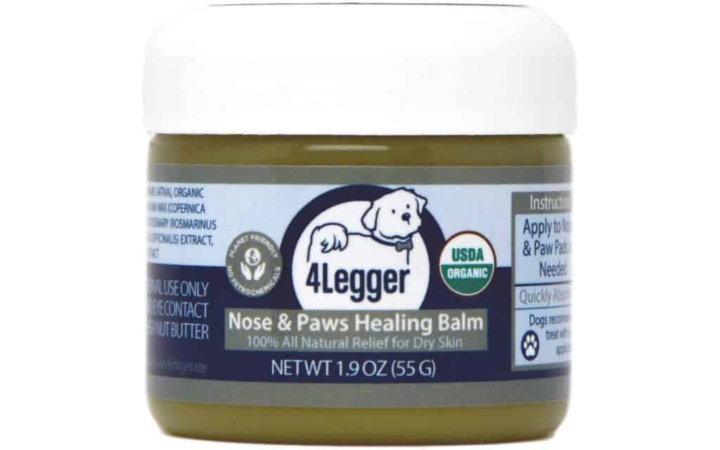 4Legger Certified Organic Nose & Paw Pad Healing Balm