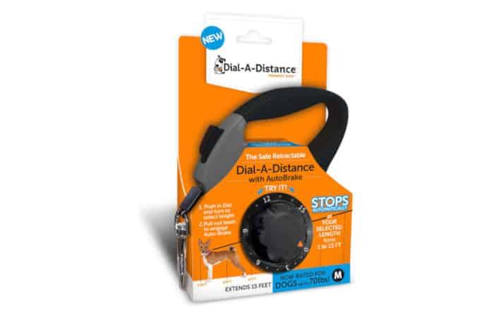 ThunderWorks Dial A-Distance Retractable Dog Leash