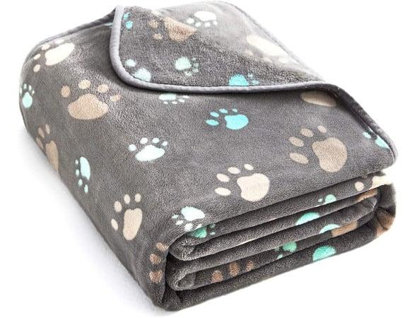 ALLISANDRO Premium Fuzzy Fleece Pet Dog Blanket