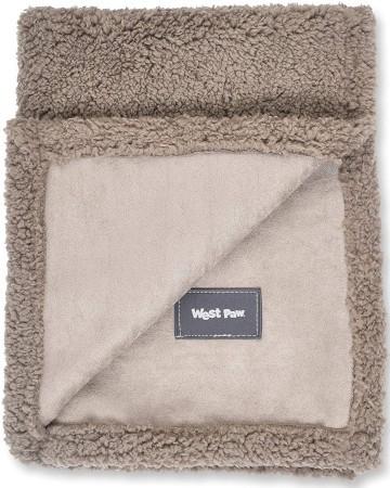 West Paw Big Sky Dog Blanket (Light Brown)