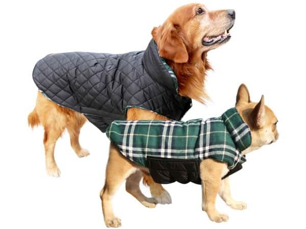 Kuoser Cozy Waterproof Reversible Winter Coat