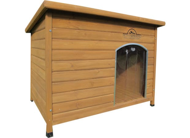 Pets Imperial Extra Large Insulated Wooden Norfolk Dog Kennel