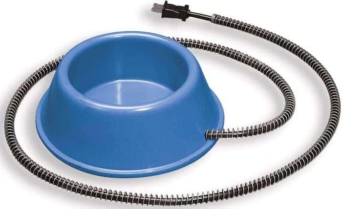 Allied Plastic Heated Pet Bowl