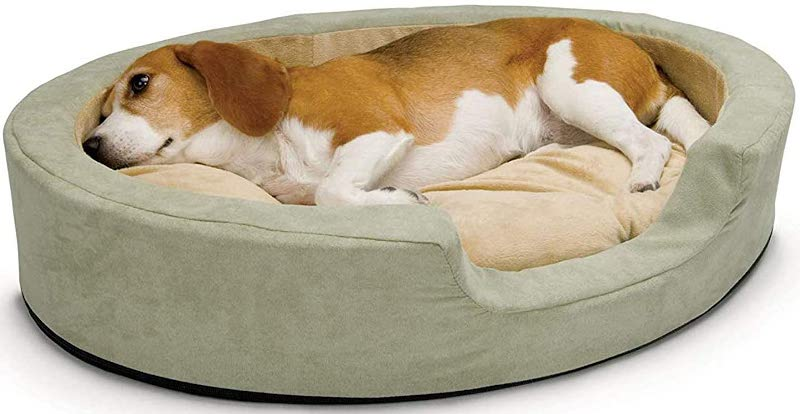K&H Pet Products Thermo-Snuggly Sleeper Heated Pet Dog Bed