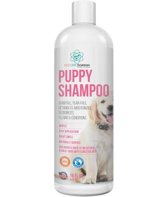 Pet Care Science Tearless Puppy Shampoo and Conditioner