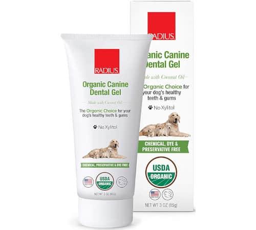 RADIUS USDA Organic Canine Pet Toothpaste