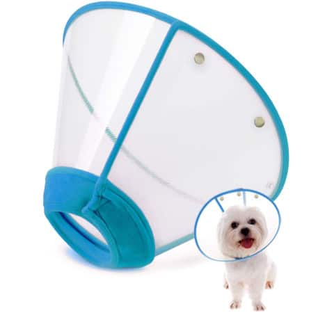 IN HAND Adjustable Pet Recovery Dog Cone