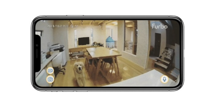 Dog Monitoring with a Pet Camera