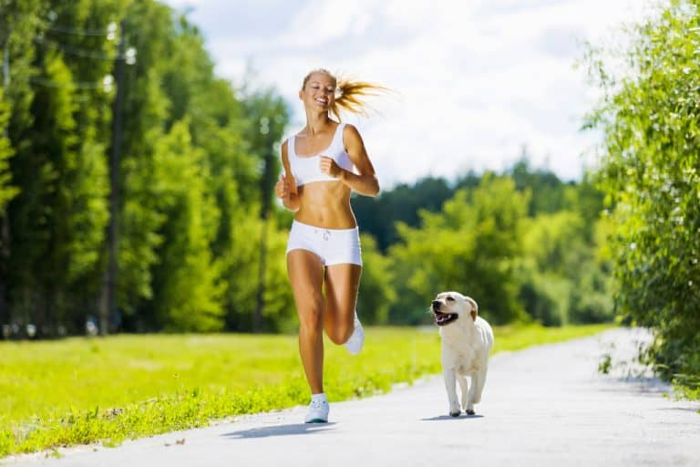 Benefits of Running with Dog